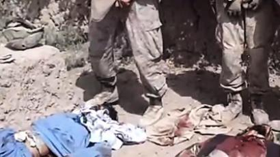 Marine video exposes systemic abuse by US troops?