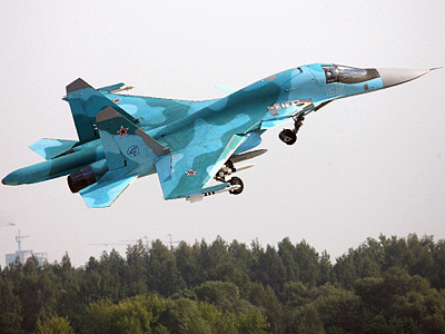 Air Force receives 6 new Sukhoi Su-34 bombers