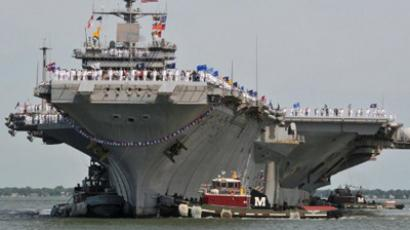 Aircraft carrier USS Enterprise (AFP Photo / US Navy / Rafael Martie / Handout)