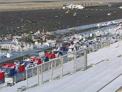 Plane crash site at Reno, Nevada