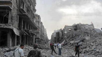 Two explosions rock Syrian capital Damascus, eyewitnesses report casualties