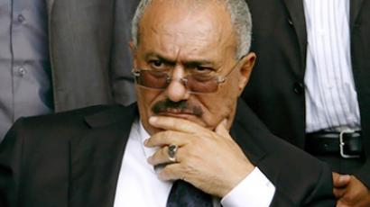 Ali Abdullah Saleh, President of the Republic of Yemen (AFP Photo / Mohammed Huwais)
