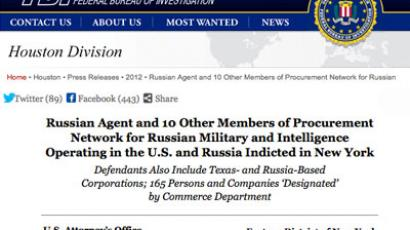 From biggest CIA leaker Hanssen to 'undercover agent' Fogle: US-Russia spy scandals in 21st century