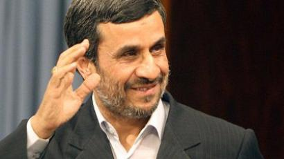 Iranian President Mahmoud Ahmadinejad. (AFP PHOTO/ATTA KENARE)