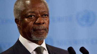 UN-Arab League peace envoy Kofi Annan (AFP Photo / Andrew Burton)