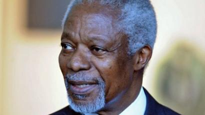 UN-Arab League envoy Kofi Annan. (AFP Photo / Philippe Merle )