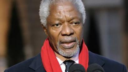 Kofi Annan (AFP Photo / Files / Eric Feferberg)