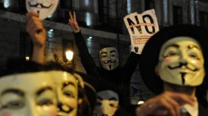 Anonymous attacks China, govt websites hacked