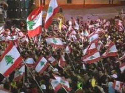 Anti-government rally continues in Lebanon
