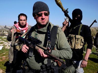 Saudi Arabia and Qatar bankroll Syrian rebels?