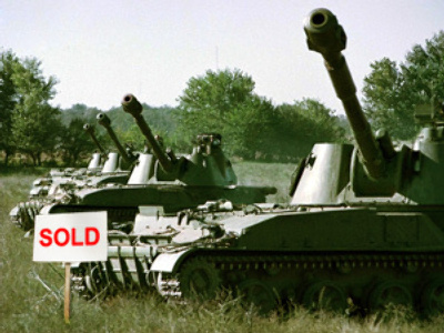 Arms sales break records