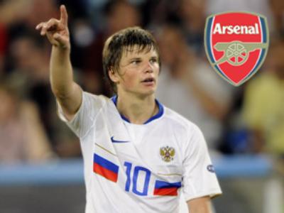 Arsenal gunning for Arshavin