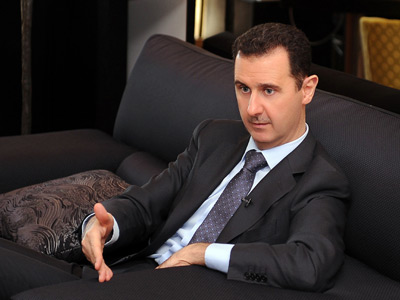Syrian President Bashar al-Assad (AFP Photo / HO)