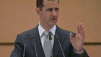 Bashar Assad (Reuters /Syrian TV via Reuters TV)
