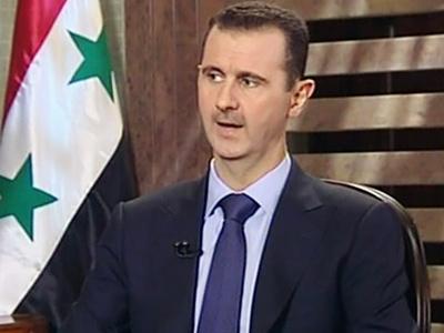 Bashar Assad (AFP Photo / Syrian TV)