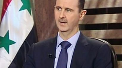 Bashar Assad (AFP Photo / Syrian TV)