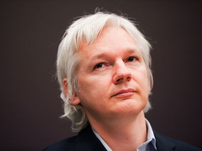 Julian Assange.(AFP Photo / Leon Neal)