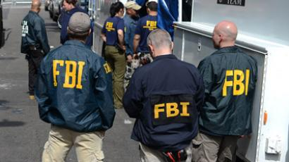 FBI agents (AFP Photo/Emmanuel Dunand)