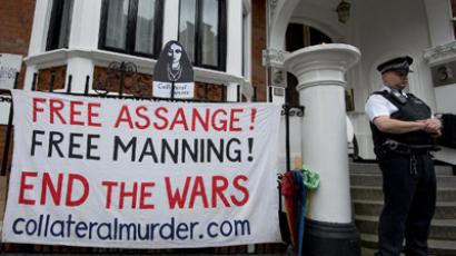 Assange rejects police request to surrender