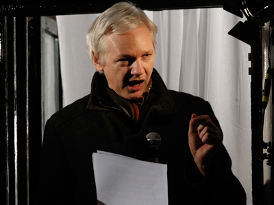 Julian Assange (Reuters / Luke MacGregor)