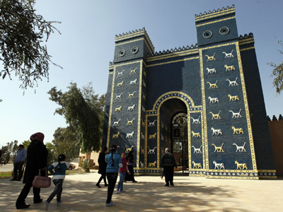 Ishtar Gate of Ancient Babylon (Reuters / Mohammed Ameen)