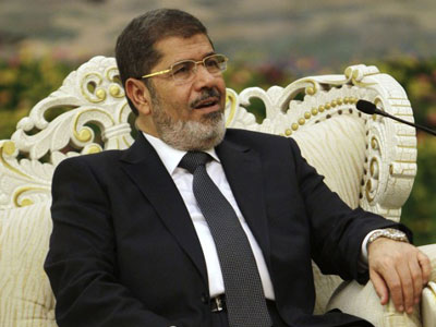 Egypt's President Mohamed Morsi ( AFP Photo / Pool)