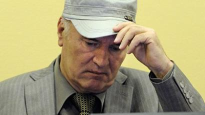 Wartime Bosnian Serb army chief Ratko Mladic (AFP Photo / Mertin Melssner)