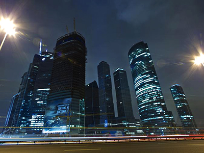 "The Moscow International Business Center (MIBC), also known as ""Moskva-City"". (Reuters)"