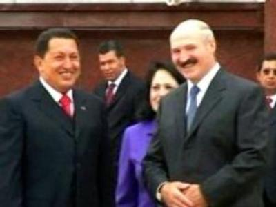 Belarus a model state - visiting Chavez