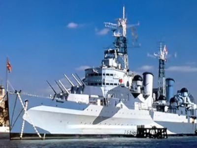St. Petersburg shipwrights to change masts on legendary British battleship