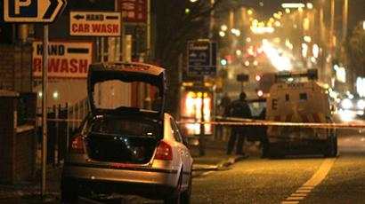 Belfast flag riots: Suspect arrested over attempted murder of police officer