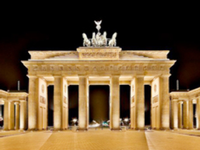 Berlin's Brandenburg Gate closed for Obama