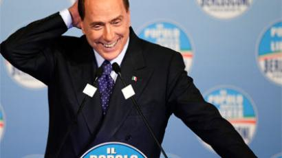Berlusconi sentenced to 1 year behind bars in wiretap trial