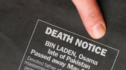 """It may take long to show Bin Laden's death certificate"" (AFP Photo / News Ltd / Torsten Blackwood)"