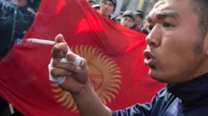 Kyrgyzstan revolution is run by rumors - witness report