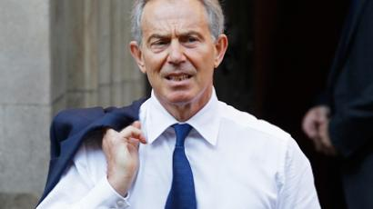 Former British Prime Minister Tony Blair arrives before giving evidence before the Leveson Inquiry into the ethics and practices of the media at the High Court in central London May 28, 2012 (Reuters/Stefan Wermuth)