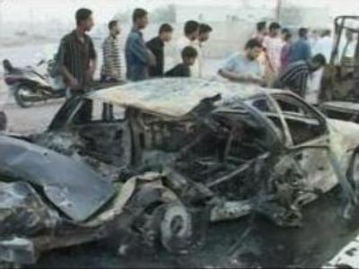 Blast in Iraq kills three