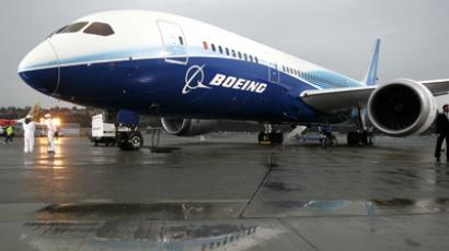 The Boeing 787 Dreamliner. (Reuters / Robert Sorbo)