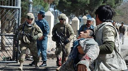 The last suicide attack in  Maymana city of Faryab province, north of Kabul occurred on April 4, 2012. (AFP Photo)