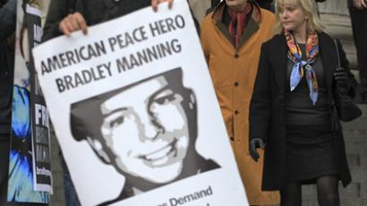 Bradley Manning demands dismissal of his case due to inhumane punishment