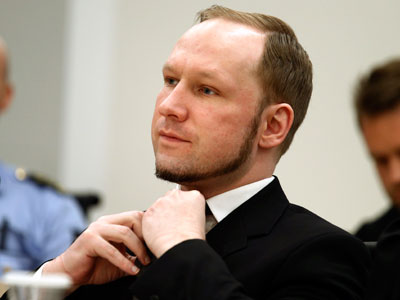 Anders Behring Breivik (REUTERS / Norsk Telegrambyra AS)