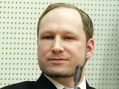 Norwegian Anders Behring Breivik, who killed 77 people. (Reuters / Scanpix Norway)