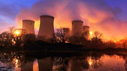 A general view of Drax power station in Drax, northern England, February 16, 2011 (Reuters/Nigel Roddis)