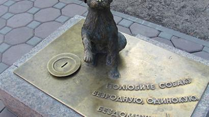 Yakutian Hachiko rejects human help
