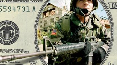 In 2010 the US spent more on its military than the next ten highest spending countries combined.