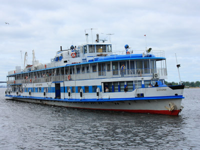 The ship that sunk in the Volga River embarked with a broken engine (RIA Novosti / Anton Turin)