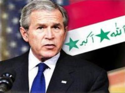 Bush counters criticism of Iraq war