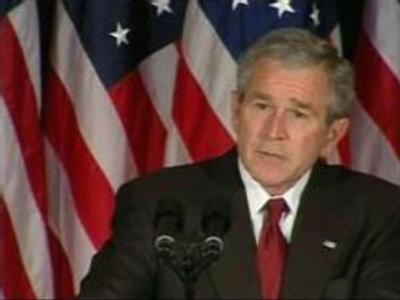 Bush reiterates threat to veto Iraq bill
