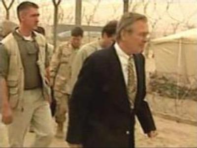 Bush sacks Rumsfeld as the Democrats gain control of the Congress