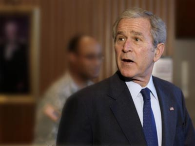 Arrest Bush! Canadians call for presidential scalp